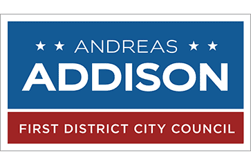Andreas Addison for Richmond City Council